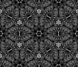 Seamless monochrome pattern 13