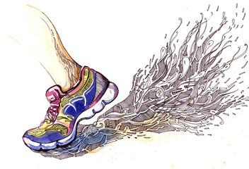 sports jogging