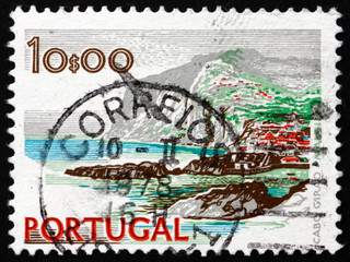 Postage stamp Portugal 1972 Cape Girao, Madeira, Sea Cliff