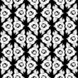 Seamless monochrome pattern 6