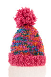 knitted winter bonnet