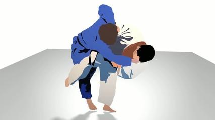 Judo Siluette HD