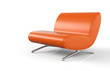 Ergonomischer Designer Sessel Orange