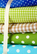 Color mottled fabrics close-up background