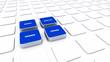 Pad Konzept Blau - Markt Analyse Chance Lösung 2