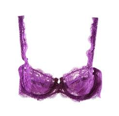 Sexy purple lacework bra