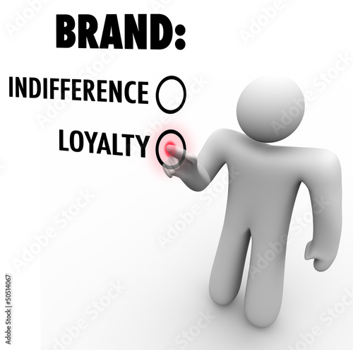 Brand Loyalty Vs Indifference Customer Chooses Preference