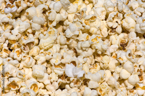 Salted popcorn background