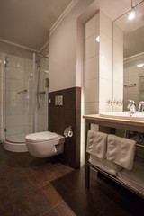 Woodland hotel - private bathroom