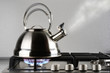 canvas print picture - Kettle boiling