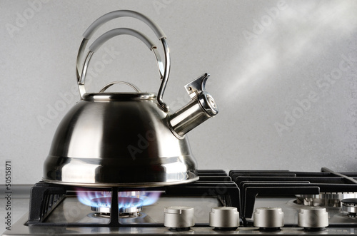 canvas print picture Kettle boiling