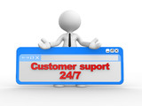 Customer suport 24/7
