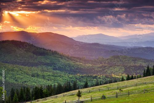 Papiers peints Morning Glory mountains landscape