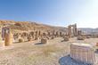 View of the Tachara Palace in Persepolis, Shiraz, Iran.