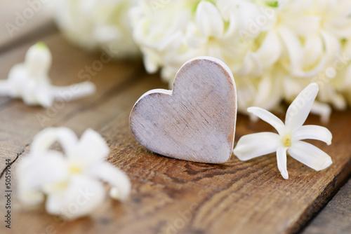 Herz auf Holz