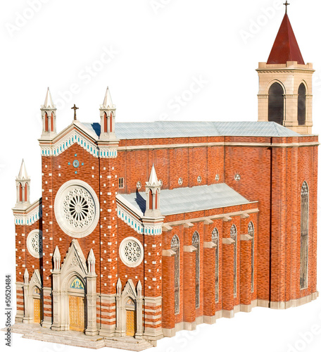 Roman Catholic Church Venetian Neo Gothic Style