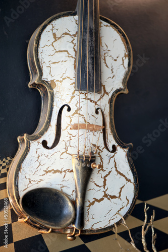 An old violin