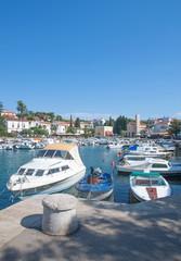 Urlaubsort Malinska auf der Insel Krk in Kroatien