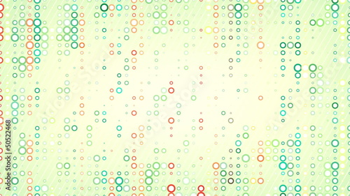 colorful circles pattern loop