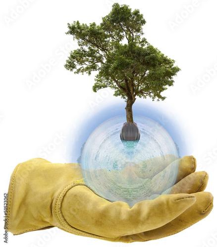 concept planète à protéger