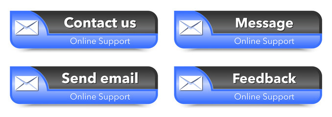 Online support web design elements
