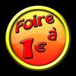 icône internet bouton foire 1 euro