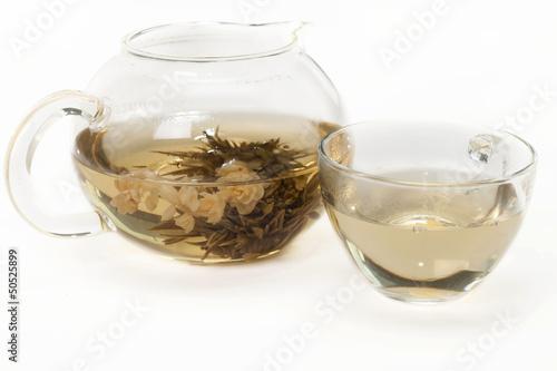 Jasmine tea .