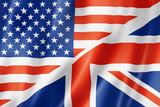 United States and British flag - 50526095