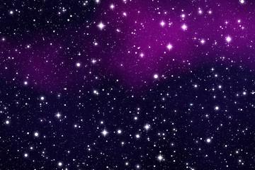 Weltraum mit Sterne und Nebwl