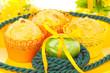 Osterfrühstück mit Muffins