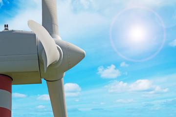 detail of windpower