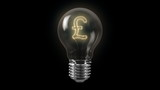English Pound Bulb with Alpha Channel