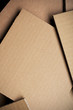 Corrugated Cardboard Sheet Background
