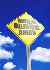 Moral dilemma ahead