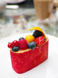 Fruit Compote Pudding