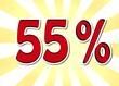 55 Prozent