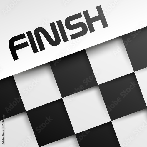 finish square template