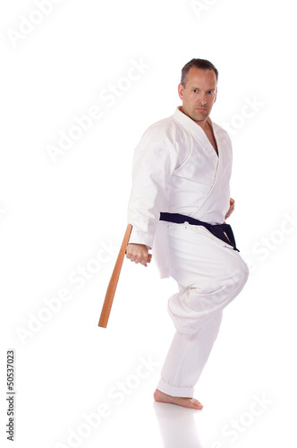 Man with two tonfa