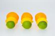 Lime Lemon and Orange Fruits