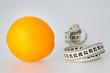 Orange and Tape Measure