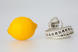 Lemon and Tape Measure