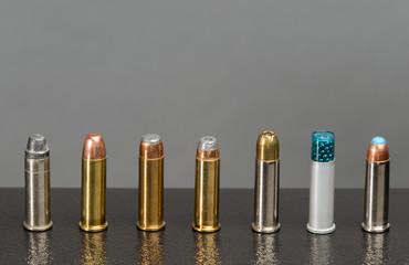 Assortment of bullets