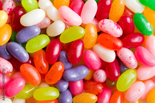 Canvas Snoepjes jelly beans