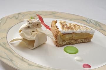 Torta e gelato