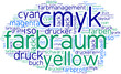 tag cloud cmyk