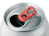 Fototapety Close-up of open aluminum soda can