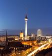 Fototapeten,berlin,funkturm,kirche,rot