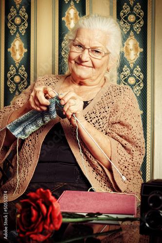 grandmas knitting