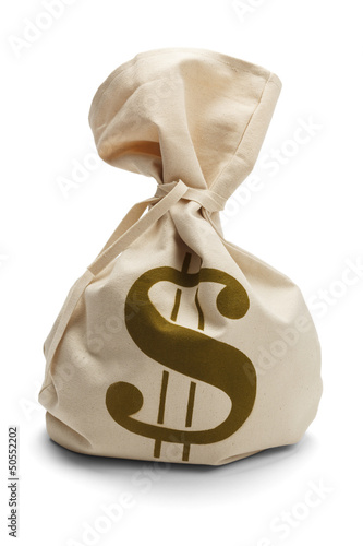 Tied Money Bag