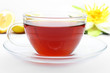 cup of darjeeling tea - Tasse Darjeeling Schwarztee